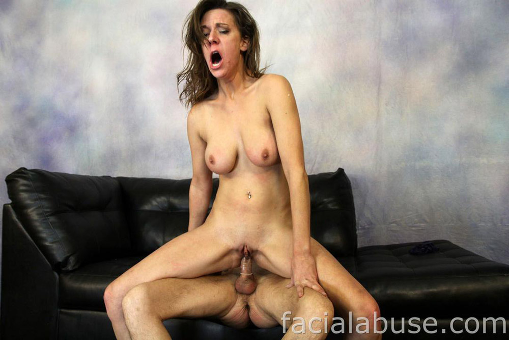She takes brutal blowjob and hard fucking 5